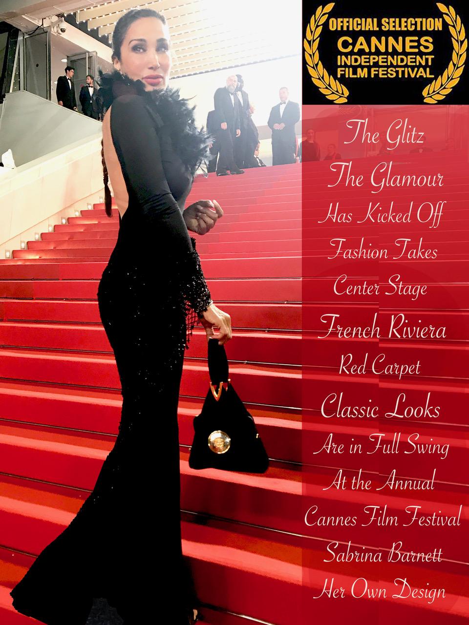 Sabrina Barnett Cannes Film